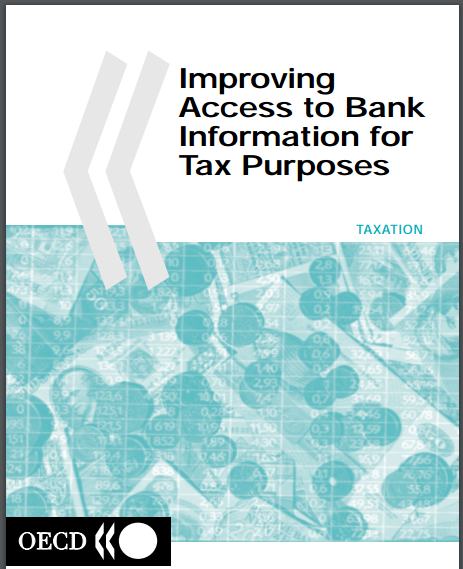 Improving Access To Bank Information Tax Purposes