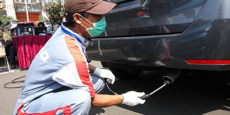 Otomania/Setyo Adi Uji emisi yang diadakan pemerintah kota Jakarta Utara