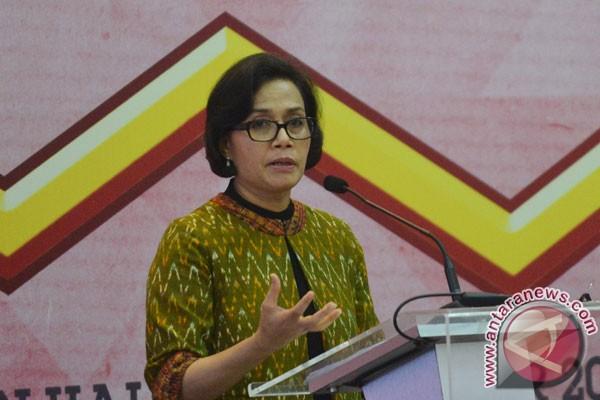Menteri Keuangan Sri Mulyani (ANTARA FOTO/Akbar Nugroho Gumay)